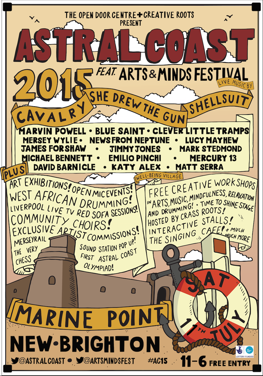 Astral Coast line-up 2015 web