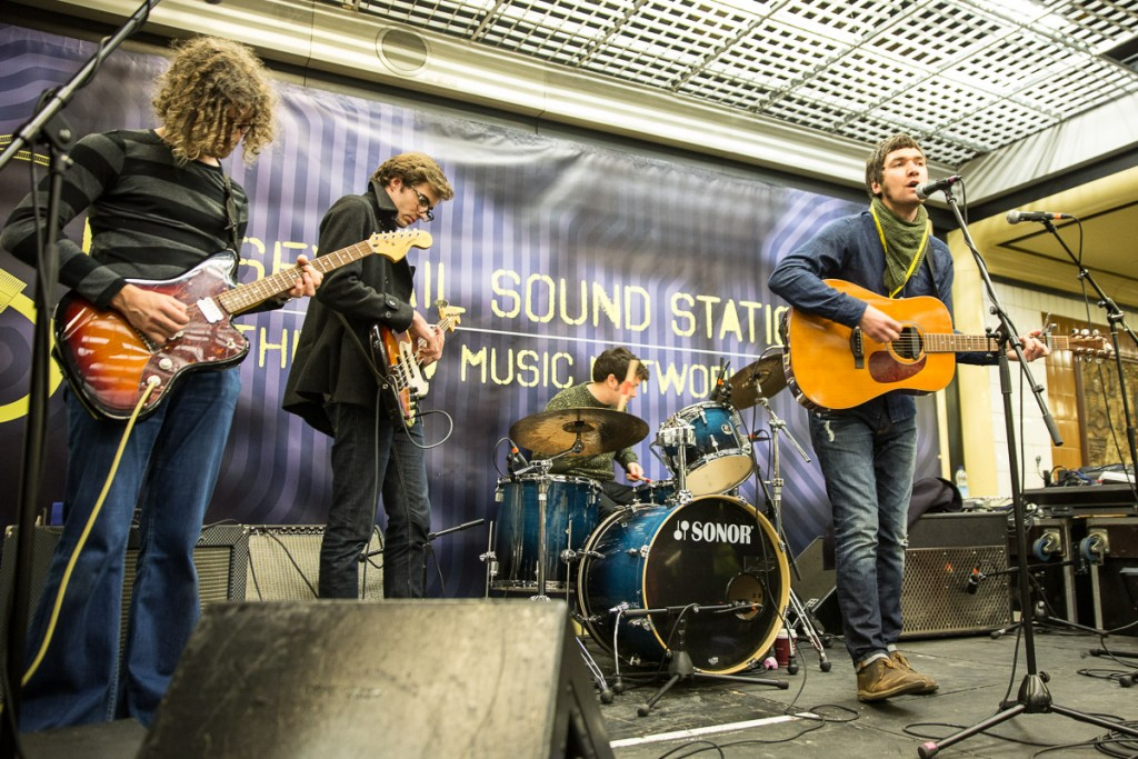 Last years Merseyrail Sound Station Festival at Moorfields