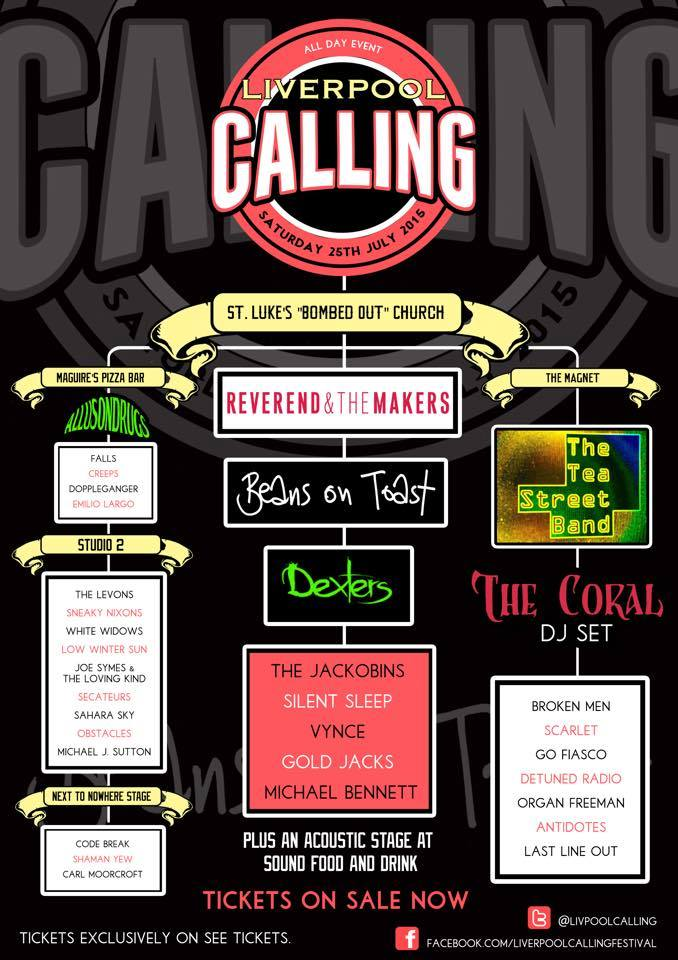 Liverpool Calling 2015 poster