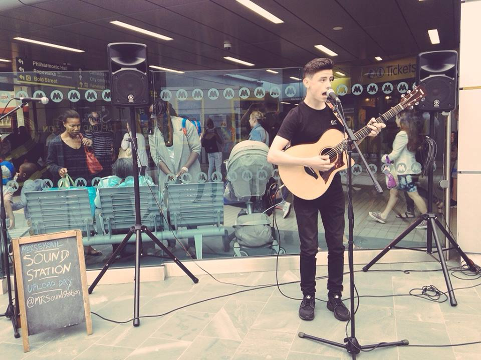 Lewis Maxwell won the opportunity to perform at LIMF this August Bank Holiday