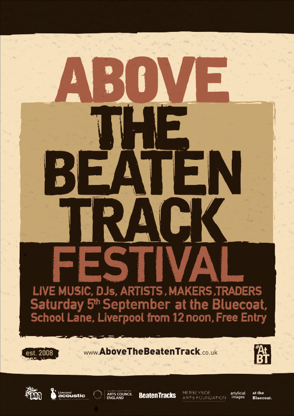 Above the Beaten Track Festival takes place at the Bluecoat